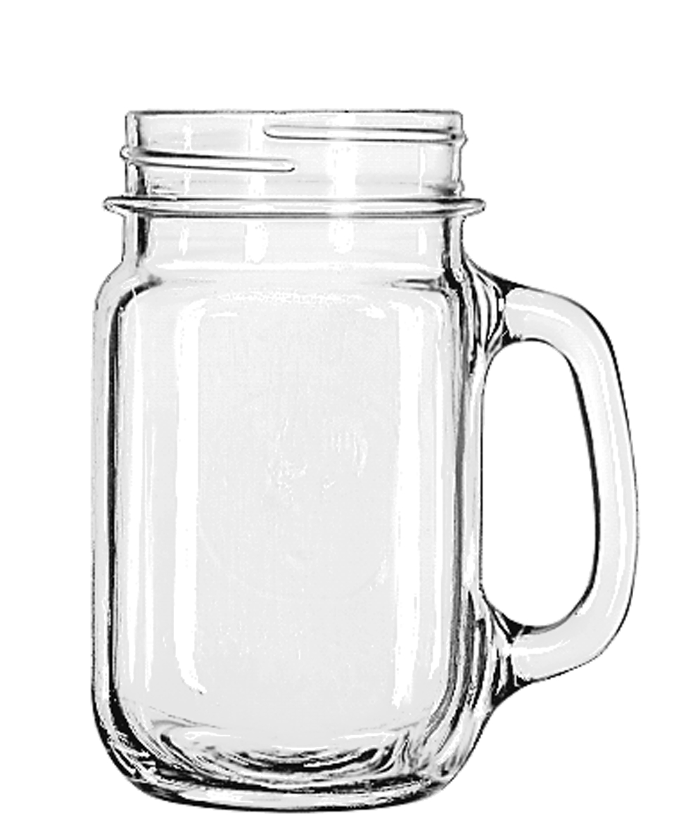 Drinking Jar 16.05oz 12/1